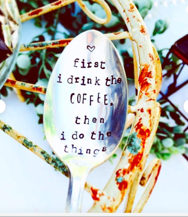 Custom coffee spoons