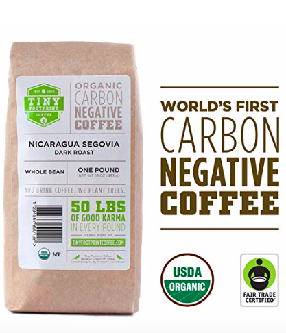 Tiny Footprint Brand: Carbon Negative Coffee