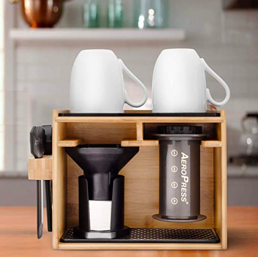 A place for AeroPress. And AeroPress in its place.