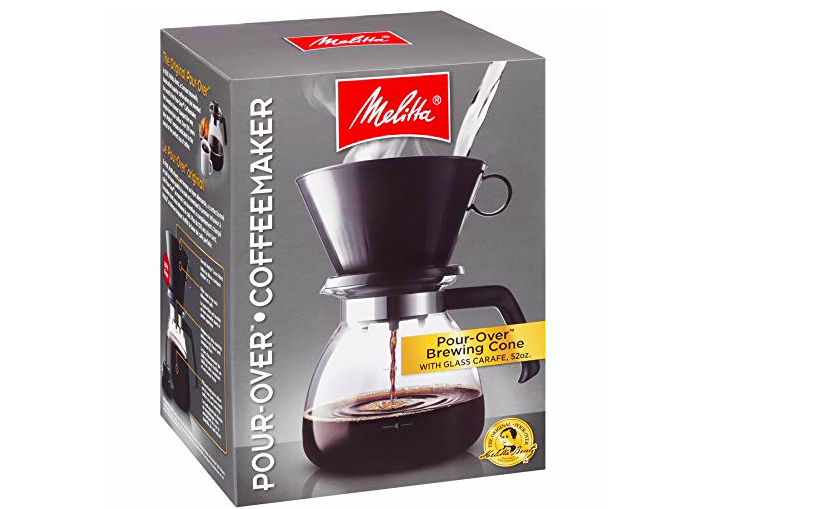 Our go-to brewer: the decidedly un-trendy Melitta 10-cup.