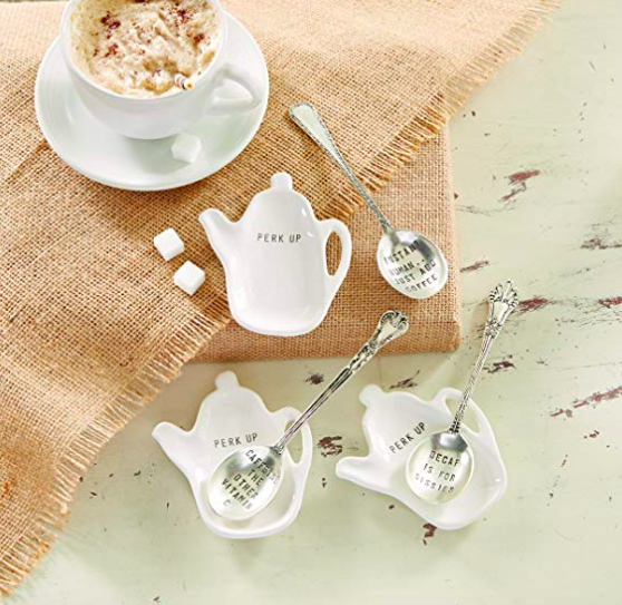 A great gift idea: Spoon and spoon rest.